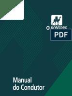 Manual do Condutor - Ouro Verde