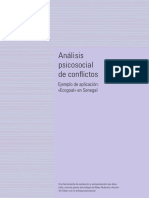 Análisis psicosocial de conflictos