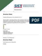 ASSIST - Bromine Water - 2019-02-22
