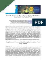 Estudo de Cenários das Micro e Pequenas Empresas da Cidade de Londrina-PR Uma Análise SWOT
