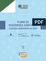 Plano Segurança Sanitária Eleições 2020