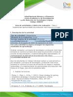 Guia de actividades y Rúbrica de evaluación - Unidad 1 - Paso 1 - Implementar oportunidades de producción más limpia en el Hogar.pdf