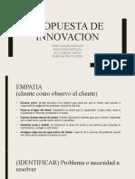 Propuesta de innovacion - act 5