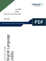 220706 Additional IGCSE English Language 4355 Specimen Papers UG014431