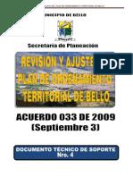 ACUERDO 033 DE 2009