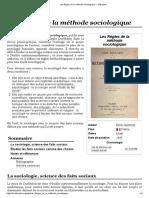 Les Règles de la méthode sociologique — Wikipédia.pdf