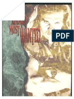 Vampire the Masquerade - The Kindred - Most Wanted