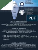 CONCEPTOS BÁSICOS DE PROGRAMACIÓN