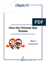 How the Chinese see Russia