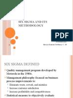 SIX SIGMA AND ITS METHODOLOGY