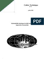 [AFPS]-CT n° 25 - Vulnérabilité sismique du bâti existant-Approche d'ensemble (2005).pdf
