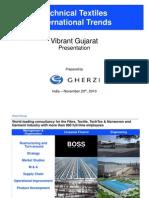 Tech Textile -International Trend  vibrant Gujarat