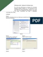 Instalação - SQL Server 2008 Express