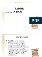 ANALIZADOR SEMÁNTICO