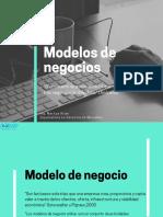 Presentación modelos de negocio