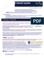 EdUSA Weekly Update No 214 -- 18 JAN 2011