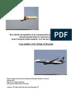 Ryanair - SAS