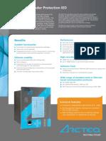 Arcteq F213 Brochure Flyer 1.1EN new