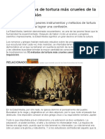 Los 10 métodos de tortura más crueles de la Santa Inquisición