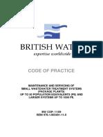 BRITISH WASTE WATER TREATMENT