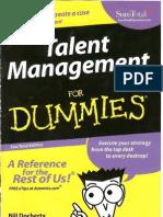 g1 Talent Managementfor dummies (1)