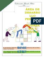 Clase N° 01 DPCC - 1° de Secundaria - II Bimestre