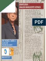 VOYNICH  PPT PUBLICIDAD PASARELA
