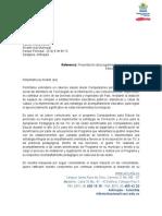 Carta Presentacion programa Tic