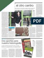 Nota sobre el impulso a la cultura desde la Municipalidad de Miraflores