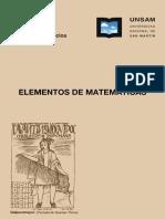 1 - Elementos de matemática