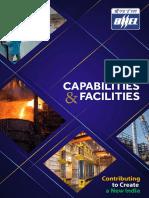 Capabilites and Facilties at BHEL
