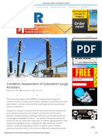 Assessing Condition of Substation Arresters_IMR
