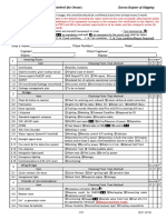 Checklist for port State Control (for Owner)