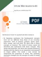 Quantum mechanics 01