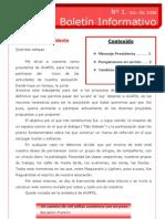 Boletín 1 (Oct-Dic 2008)