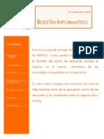 Boletín 2 (Enero-Mar 2009)