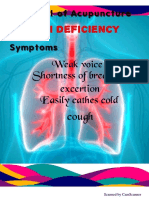 Lungs qi deficiency