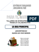 LA IDEA PRINCIPAL