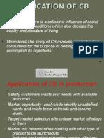consumer behaviour applications