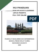 Panduan PKA - PKP Online Elearning