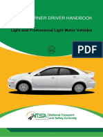 NTSA PRIVATE LIGHT VEHICLES LEARNER'S HANDBOOK 2017-WITH AMENDMENT PROPOSED (3)-1
