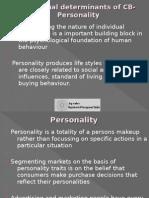 CB individual determinants