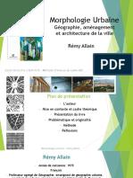 Remy_Allain_La_morphologie_urbaine