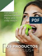 manual productos Juice Plus