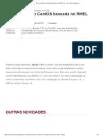 Nova versão do CentOS baseada no RHEL 7.2 - Linux Descomplicado.pdf