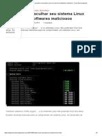 Saiba como vasculhar seu sistema Linux em busca de softwares maliciosos - Linux Descomplicado
