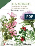 Remedios Naturales. Las 100 mejores plantas medicinales para tu salud.pdf