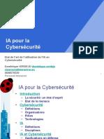 Cybersécurité Et IA