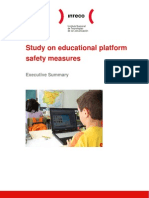 Executive Summary of the Study on Educational Platform Safety Measures