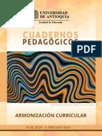 Cuadernos Pedagógicos-Armonización Curricular